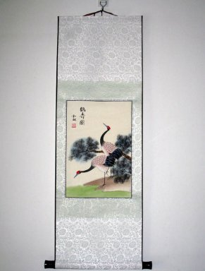 Crane - Mounted - Chinese Painting