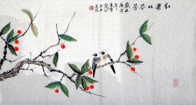 Birds&Fruits - Chinese Painting