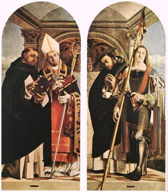 Sts Thomas Aquinas And Flavian Sts Peter The Martyr And Vitus 15