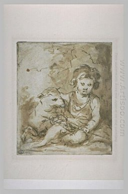 St John The Baptist With A Lamb 1670