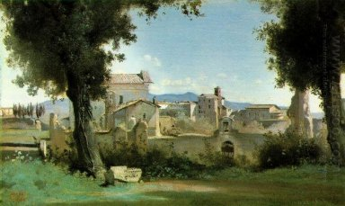 View From The Farnese Gardens Rome 1826