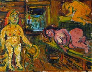 In The Bathhouse