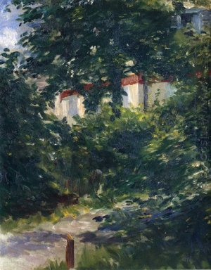 the garden around manet s house
