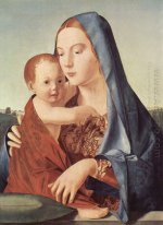madonna and child madonna benson 1470
