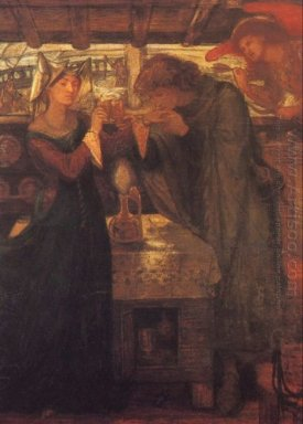 Tristram And Isolde Drinking The Love Potion 1867