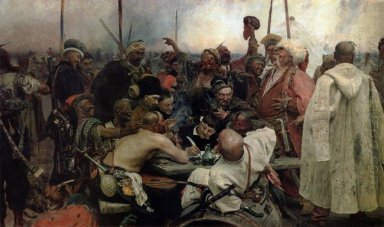 The Reply Of The Zaporozhian Cossacks To Sultan Mahmoud Iv 1891