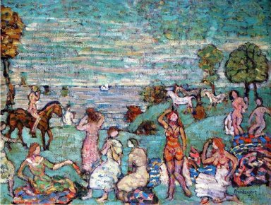 Picnic By The Sea 1915
