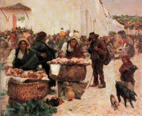 The bakers, a market in Figueir