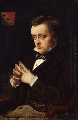 Portrait Of Wilkie Collins
