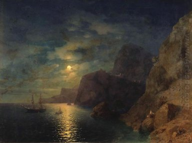 Sea At Night 1861