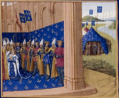Coronation Of Lothair 1460