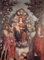 Madonna with saints St. John theBaptist, St. Gregory I the Great