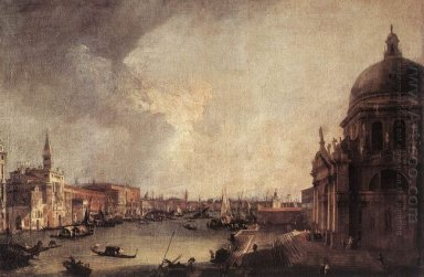 entrance to the grand canal looking east 1725