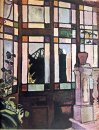 Window With Coloured Glasses 1906