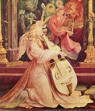 The Concert Of Angels Detail From The Isenheim Altarpiece