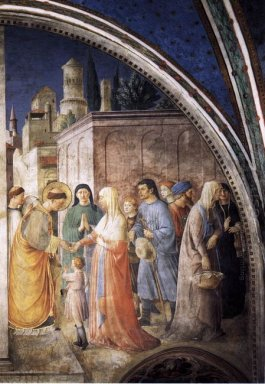 St Stephen Distributing Alms 1449