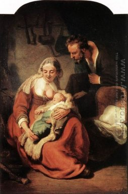 The Holy Family 1630s