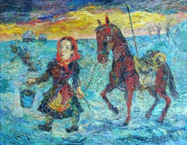 Woman With A Horse