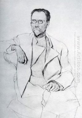 Portrait Of A A Bakhrushin 1920