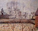 landscape frost and fog eragny 1892