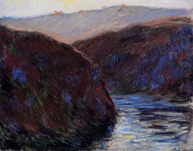 The Creuse Valley Evening Effect 1889