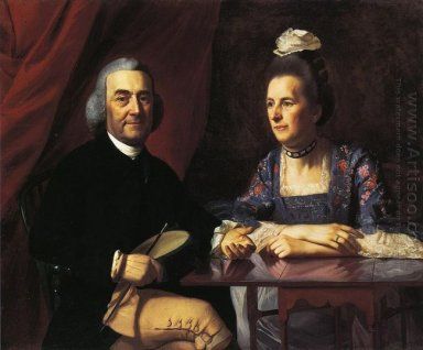 Mr And Mrs Isaac Winslow 1773