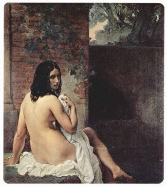 Back View Of A Bather 1859