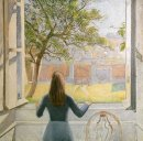 Young Girl At The Window 1957