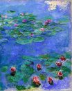 Water Lilies Red 1919