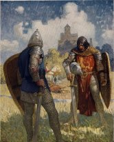 I Am Sir Launcelot Du Lake King Ban S Son Of Benwick And Knight