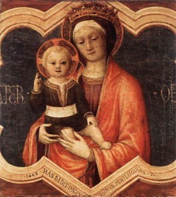 Madonna And Child 1448