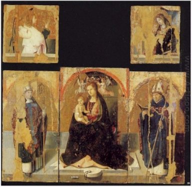 polyptych with st gregory 1473
