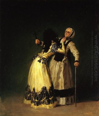 The Duchess Of Alba And Her Duenna 1795