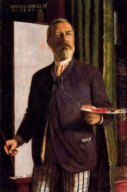 self portrait in studio 1893