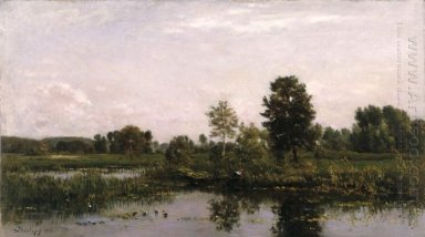 A Bend In The River Oise 1872
