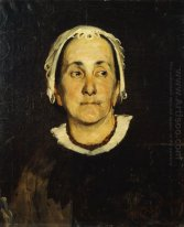 Portrait of lady wearing white cap