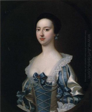 Anne Bateman Later Mrs John Gisbourne 1755