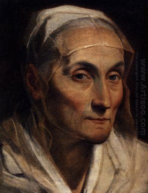 Portrait Of Old Woman 1630