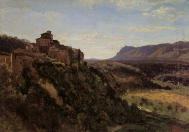 Papigno Buildings Overlooking The Valley 1826