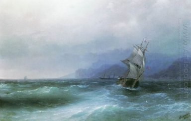 Sailing In The Sea 1884 1