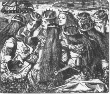 King Arthur And The Weeping Queens 1857 1