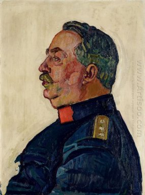 Portrait Of General Ulrich Wille 1915
