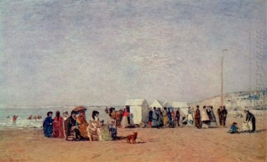 Strand In Trouville 1868