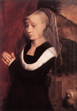 Portrait Of A Praying Woman