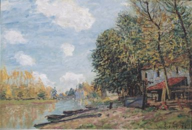 the banks of the loing moret 1885