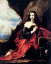 St. Maria Magdalena of St. Thais in de woestijn