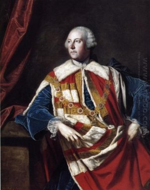 John Russel 4Th Duke Of Bedford 1762