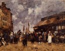 Trouville The Fish Market 1884