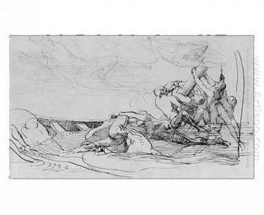 Study For The Siege Of Gibraltar 1786