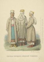 Clothing woman from Kiev Province